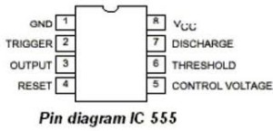 IC-555-pin diagram
