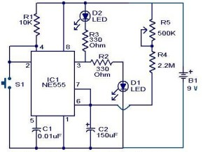 timer-circuit-using-IC-555