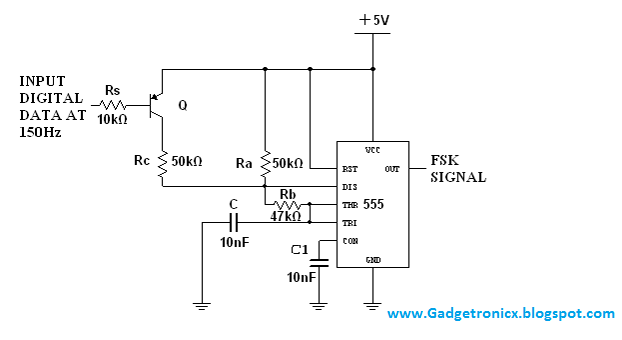 FSK-modulator-and-demodulator-using-IC-NE-555