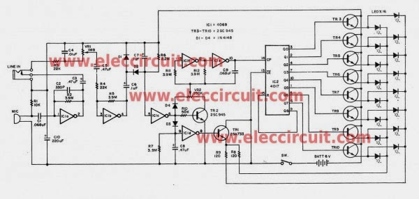 cheap led christmas light flasher circuit is controlled by audio 600x286 six simple led lighting circuit for christmas gadgetronicx led christmas lights wiring diagram at bayanpartner.co