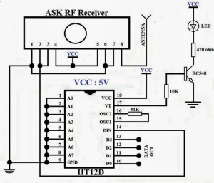 RF-receiver-wirless-communcation-circuit