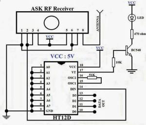 RF-receiver-wirless-communcation-circuit