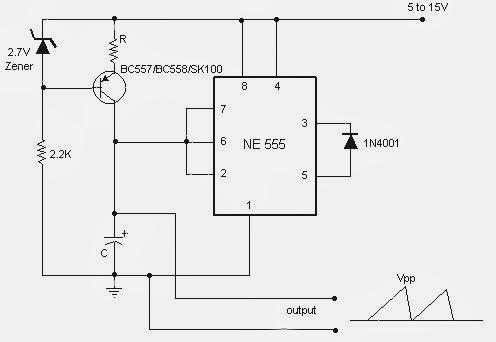 sawtooth-wave-generator-circuit-using-ne555