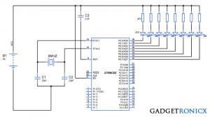 Timer-interrupt-service-routine-8051-microcontroller
