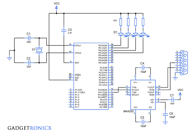 serial-interrupt-programming-in-8051-microcontroller