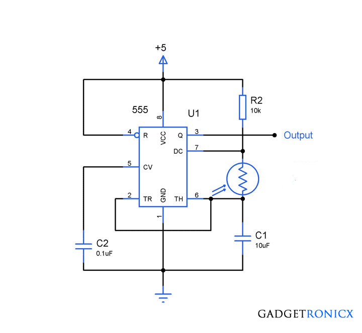 Light-frequency-converter-circuit-555-LDR