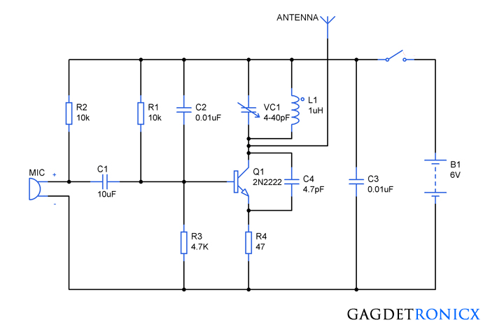 FM-spy-bug-electronic-circuit-diagram