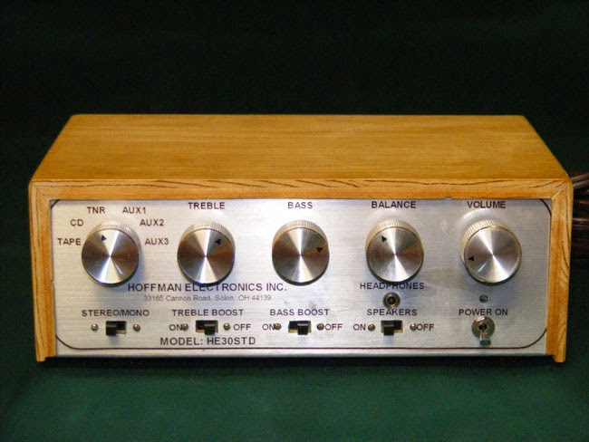 Stereo-amplifier