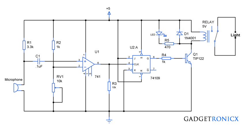 clap-activated-light-switch-electronic-circuit-diagram