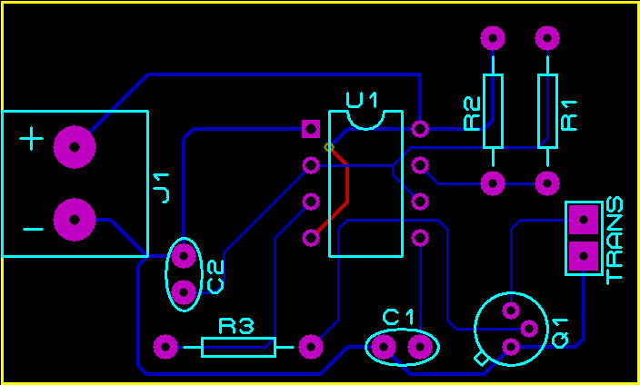 pcb-design-ultrasonic-transmitter