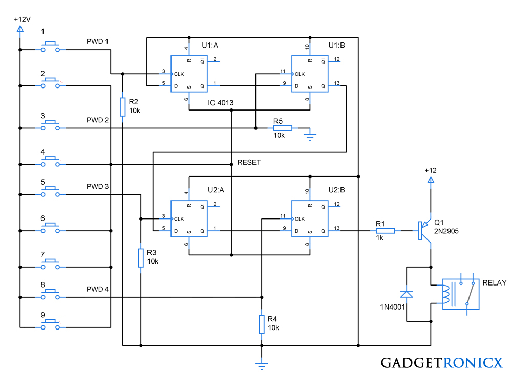 code-lock-circuit-diagram-cd4013
