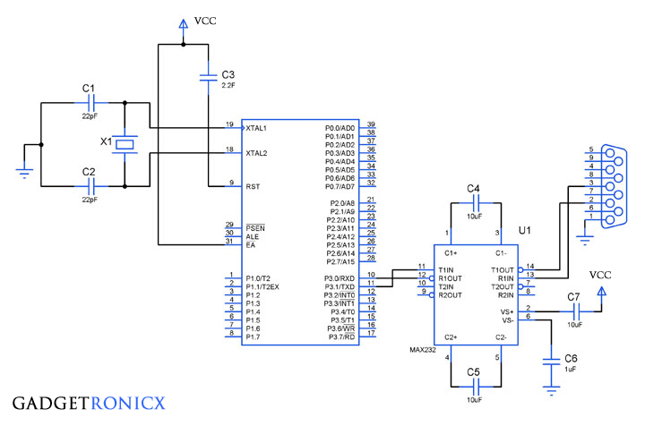 serial-communication-in-8051-microcontroller