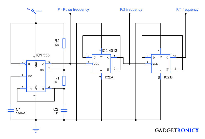 Frequency-divider-circuit-ic-555-4013