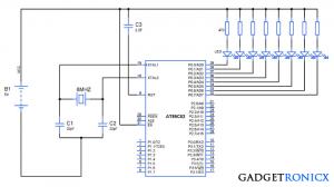Interrupt Service Routine using Timers in 8051 Microcontroller