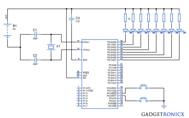 Programming External hardware Interrupts in 8051