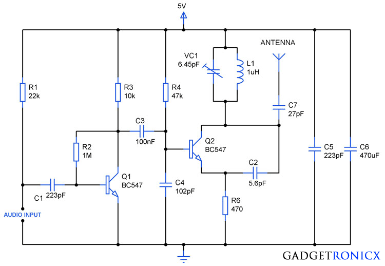 FM-transmitter-circuit-diagram-design-transistors