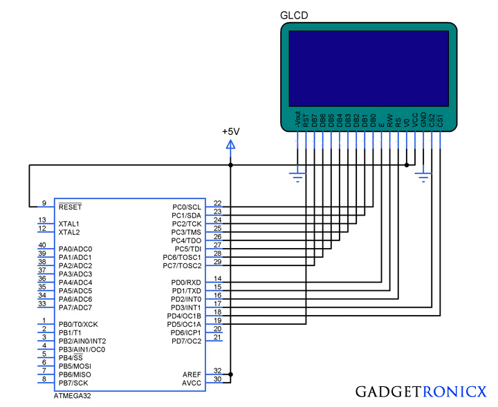 Displaying-image-in-GLCD-AVR-tutorial-ATmega32