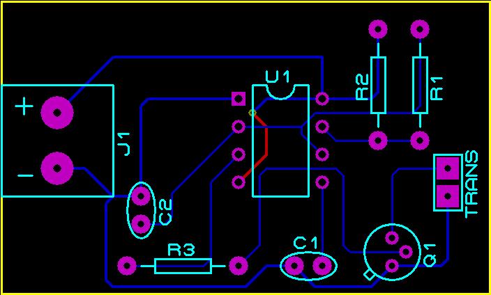 Ultrasonic transmitter circuit using IC 555 - Gadgetronicx