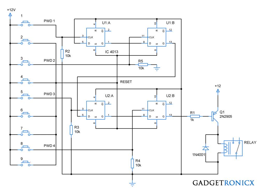 code-lock-circuit-diagram-cd4013